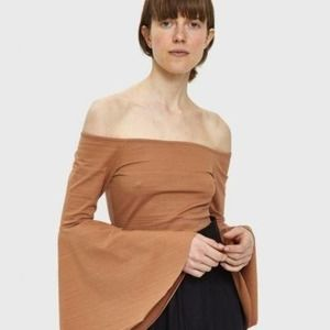 Farrow Thella Off the Shoulder Blouse